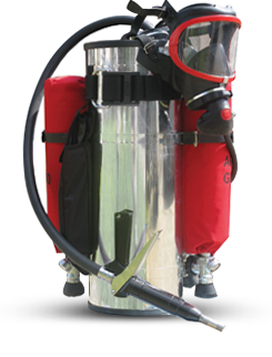 Backpack fire extinguisher GIRS - 400